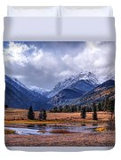 Sheep Lakes Autumn Duvet Cover