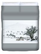Sheep Shelter  Duvet Cover