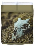Sheep Skull Duvet Cover