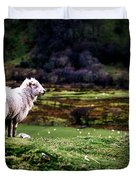 Sheep View Duvet Cover