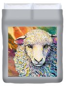 Sheepish Duvet Cover