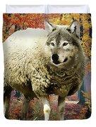 Sheep's Clothing Duvet Cover