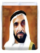Sheikh Zayed Duvet Cover