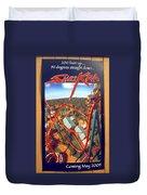 Sheikra Ride Poster 2 Duvet Cover