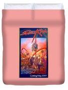 Sheikra Ride Poster 3 Duvet Cover
