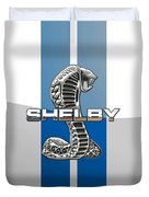 Shelby Cobra - 3d Badge Duvet Cover