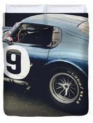 Shelby Cobra Daytona Coupe Duvet Cover
