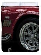 Shelby Cobra Sports Car Duvet Cover