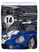 Shelby Daytona Duvet Cover