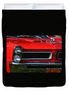 Red Gto Duvet Cover