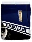 Shelby Mustang G T 350 Cobra Duvet Cover