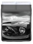Shelby Super Snake Mustang Grille And Headlight Duvet Cover