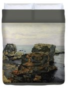 Shell Beach  Duvet Cover