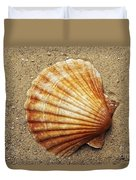 Shell On The Sand Duvet Cover