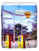 Shell Station Duvet Cover