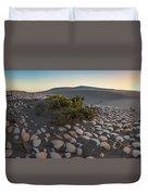 Shells At Desert Duvet Cover