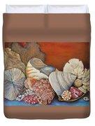 Shells On Shelf Duvet Cover