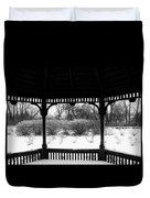 Shelter From The Storm       Landscape     Indiana Duvet Cover