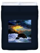 Shelter From The Storm Duvet Cover