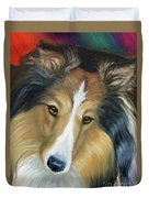 Sheltie - Collie Duvet Cover