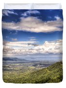 Shenandoah National Park - Sky And Clouds Duvet Cover