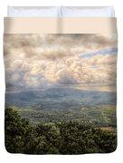 Shenandoah Valley - Storm Rolling In Duvet Cover
