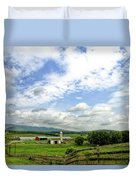 Shenandoah Valley West Virginia Scenic Series Duvet Cover