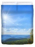 Shenandoah's The Point Overlook Duvet Cover