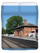Shenton Station Duvet Cover