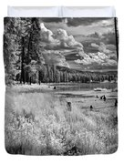 Shepard Lake Duvet Cover
