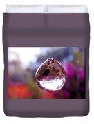Sherbet Crystal Teardrop Duvet Cover