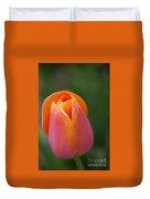 Sherbet Tulip Duvet Cover