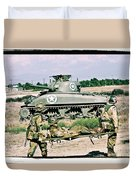 Sherman Advance Duvet Cover