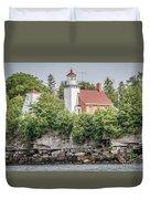 Sherwood Point Lighthouse Duvet Cover