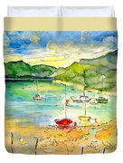 Shieldaig In Scotland 03 Duvet Cover
