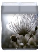 Shimmering Flower I Duvet Cover by Ray Laskowitz - Printscapes