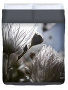 Shimmering Flower II Duvet Cover by Ray Laskowitz - Printscapes
