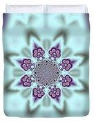 Shimmering Snowflake Duvet Cover
