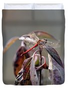 Shimmering Wings- Dragonfly Duvet Cover