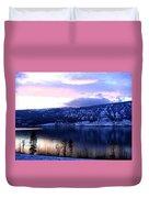 Shimmering Wood Lake Duvet Cover