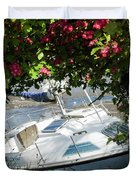 Shindilla Framed With Flowers Duvet Cover