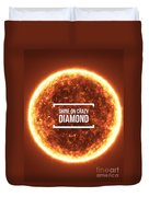 Shine On Crazy Diamond Duvet Cover