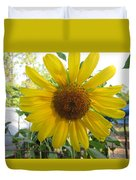 Shine Sunflower Shine Duvet Cover