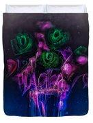 Shining Flowers  Duvet Cover