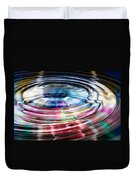 Shining Ripples In Bright Colors Duvet Cover