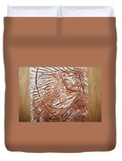 Shining Sun - Tile Duvet Cover