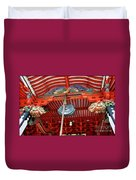 Shinto Shrine Duvet Cover