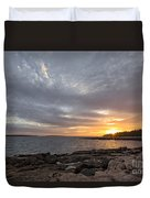 Ship Harbor Duvet Cover