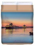 Ship Kaye Barker Reflections -8368 Duvet Cover