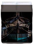 Ship Of Yesteryear Duvet Cover